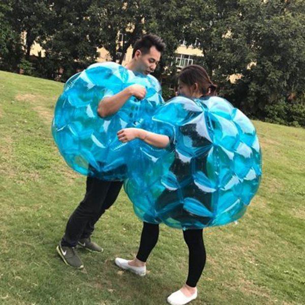 Zorb Football 3ft Inflable Bubblefootball Body Zorb Balls 90cm para niños Juegos de Bump al aire libre Envío gratis