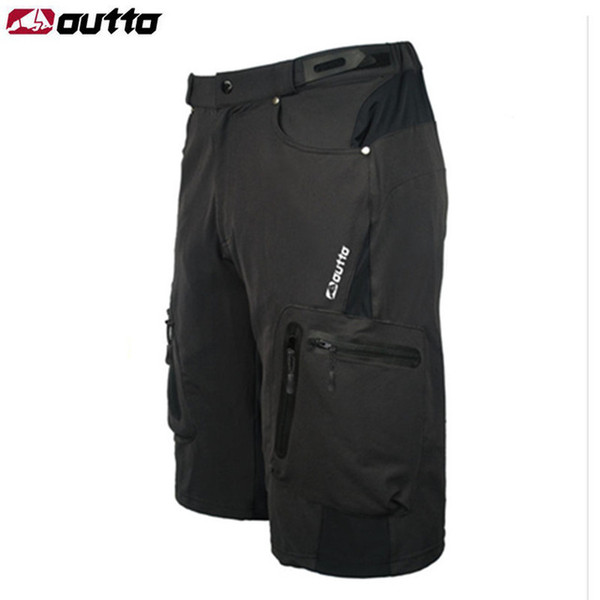 best selling OUTTO Men's Outdoor Sports Shorts Camping Ropa Breathable Loose Fit For Running Cycling Bicycle Bike Riding Hiking Shorts