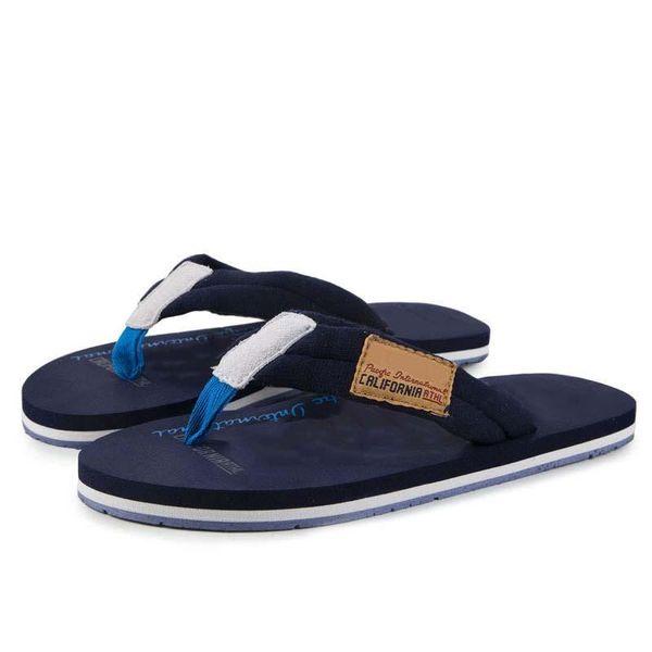 Zapatos de alta calidad de las mujeres de los hombres Flip flops 2018 moda de verano suave cómodo de goma transpirable Casual hombre zapatillas planas