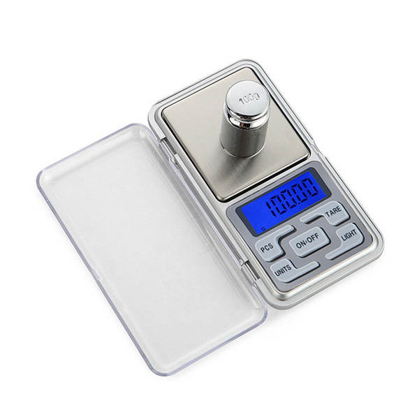 Mini Digital Weight Pocket Scales 0.1/0.01g LCD Display with Backlight 100-500g Electric Pocket Jewerlry Gram Weight Balance