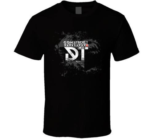 YENİ KOYU TRANQUILITY MANIFESTO 01 Erkekler T Gömlek