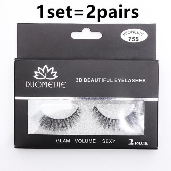 Wholesale 16styles top quality false eyelashes curled eyelashes Fake Eyelashes 3d mink 1set=2pairs epacket free shipping
