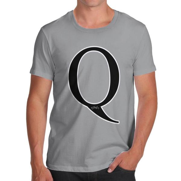 Twisted Envy Men/'s Alphabet I /<3 You Cotton T-Shirt