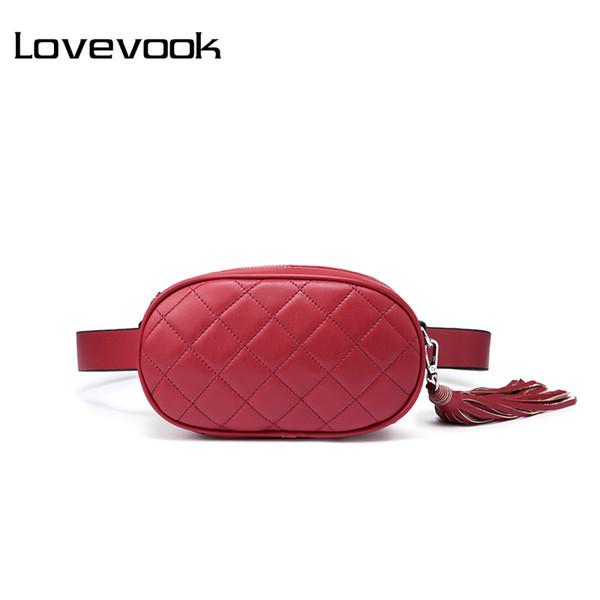 LOVEVOOK sac de taille femme ceinture de poitrine sac femme épaule bandoulière dames messagers dames sacs à main et sacs à main 2018