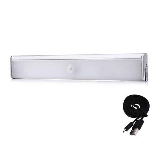 Compre Luz Para Interior 83 Lámpara De Recargable LED Iluminación De Movimiento Nocturna USB Luces Armario USB Armario Del Inalámbrica A24 Sensor m8wNn0