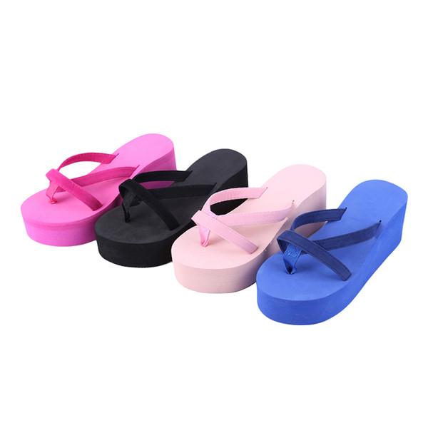 Women Flip Flops Bownot Sandals Shoes Sapato Feminino Beach Wedge Flip Flops Women Slipper Shoes Sandalias Mujer