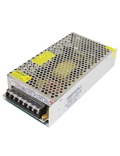 110V/220V AC to DC 24V 5A 120W Switch Power Supply Driver,Power Transformer for CCTV camera/ Security System/ LED Strip Light