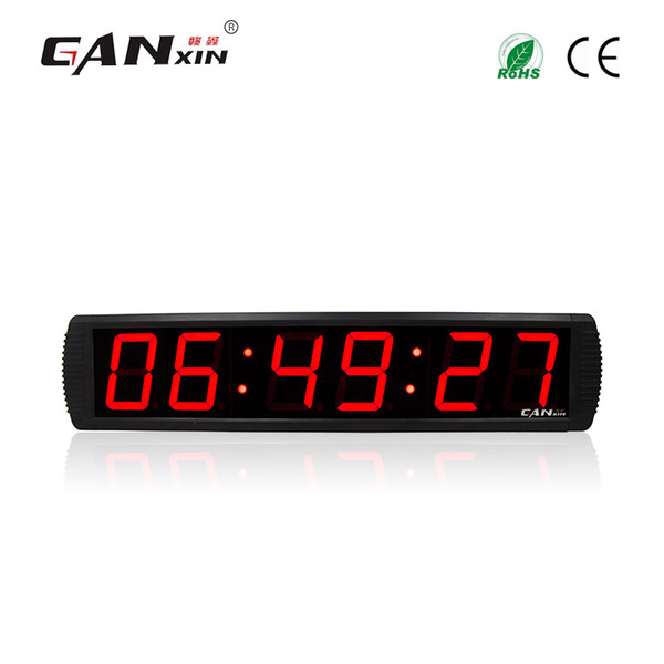 [GANXIN]4'' programmable digital timer clocks home decor wall Led clock countdown timer