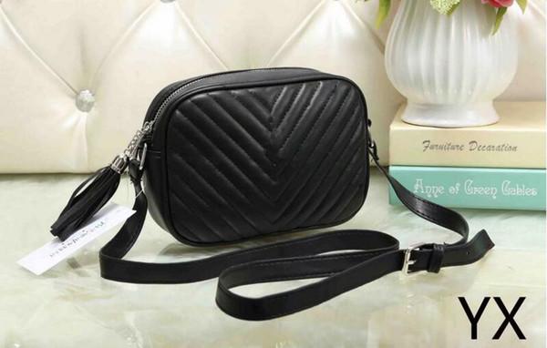 Brand Designer Women Genuine Leather Handbag Black Briefcase Laptop Shoulder Bag Messenger Bag 0519