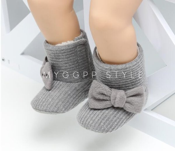 Winter Baby Mädchen Schuhe Kinder Kleinkind Infant Stiefel Prewalker Erste Wanderer heißer verkauf
