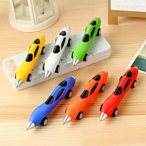 6 Colori Novità Classici Giocattoli Auto Penne a sfera Fonde Sotto Pressione Giocattoli Veicoli Multicolore Giocattoli per auto