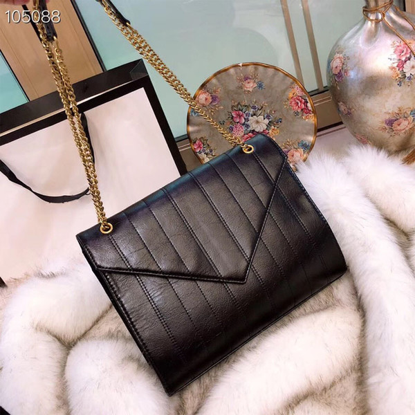 HOT!Newest Famous brand designer handbags luxury women chain shoulder bags female fashion envelope crossbody size:30x23cm