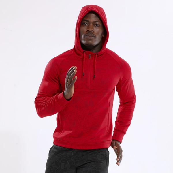 Men's Running Sweaters Hoodies Sweatsuit Running Jackets Men Hooded Sportswear Long Sleeves Sweatshirts Plus Size Sport Sweater