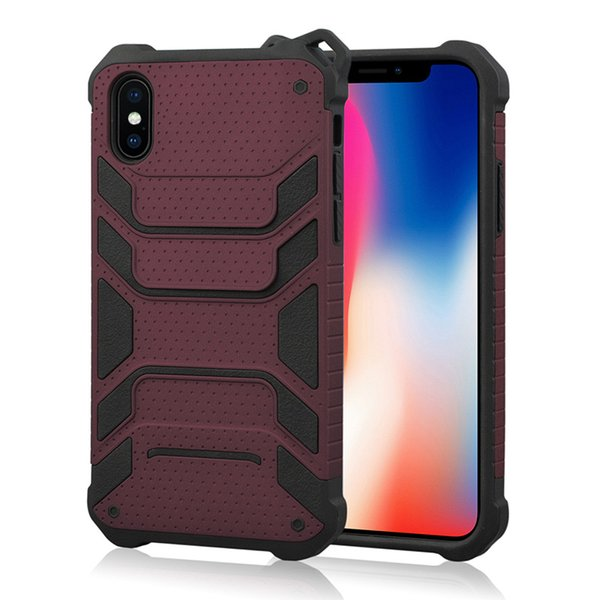 Newest Armor Hybrid for iphone designer phone case Spiderman duty phone case 2 in 1 TPU+PC shockproof mobile case cover back shell