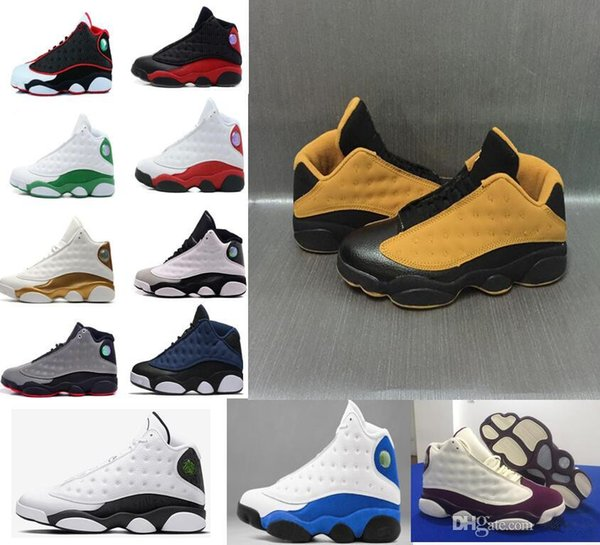 ac7287ffb43 New 13 13s Black Cat 3M Reflect Men Women Basketball Shoes 13s Flint Bred  Olive Gym
