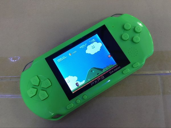 Game Player PXP3 (16 Bit) 2.7 Inch LCD Screen Handheld Video Game Player Consoles Mini Portable Game Box FC
