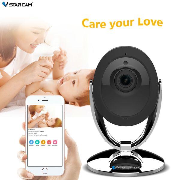 Free shipping C93 Wifi IP Camera 720P Night Vision 2-Way Audio Wireless Motion Alarm Mini Smart Home Webcam Video Monitor