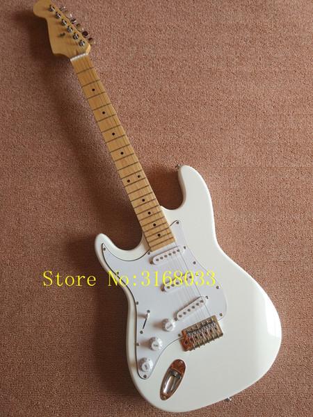 Tastiera bianca dell'acero della chitarra elettrica delle chitarre mancine OEM di nuovo arrivo di prezzi economici