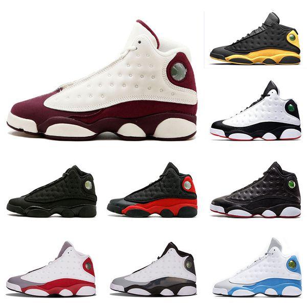 Zapatillas de baloncesto de estilo clásico 13 13s para hombre GS Bordeaux He Got Game Altitude Bred Black Cat Calzado deportivo zapatillas deportivas tamaño 8-13