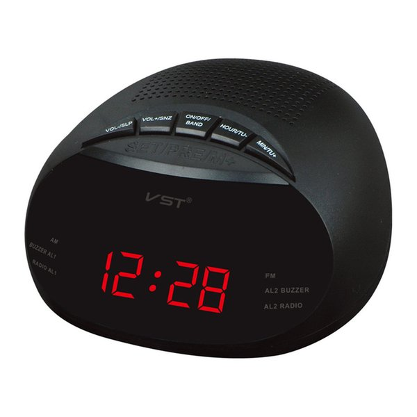 1 pcs Radio LED Alarm Clock AM/FM Radio Multi Alarm Clock with Snooze Function /24 h