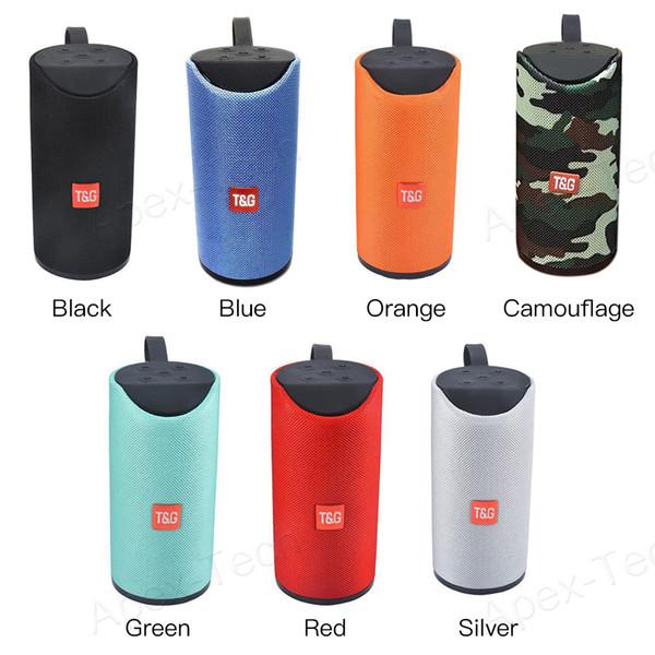 best selling TG113 Outdoor Speaker BT Portable Speaker Wireless Mini TF Card and USB Disk Loudspeaker