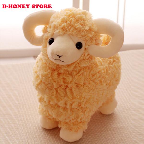 35cm Kawaii sheep Plush Doll Toys Cute Stuffed Toys lovely sheep Stuffed Animals Doll Children Kids Gift