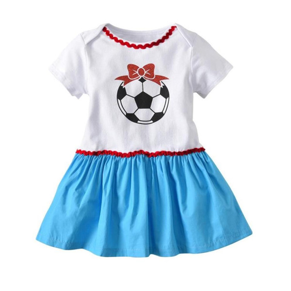 running shoes sneakers for cheap elegant shoes 2018 Toddler Infant Baby Girl Dress Soccer Print Russia Footall Romper  Dresses Outfit Summer Newborn Baby Girl Clothes Abbigliamento From Bosiju,  ...