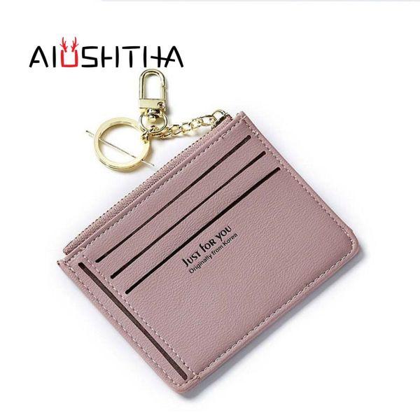 card holder women cards business case organizer cardholder porte carte carteira purses lady