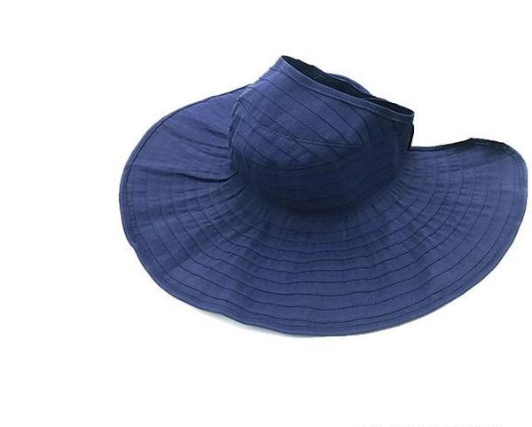 Sun hat empty female summer sun hat is prevented bask in han edition travel leisure joker uv block face folding