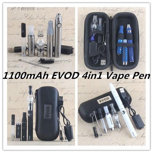 1100mAh EVOD 4in1 Vape Pen