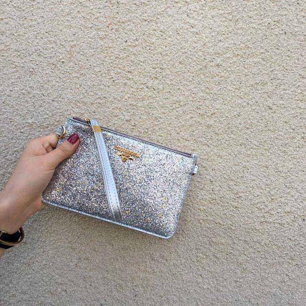 Filles Messenger Clutch Bag Sac à main Sequin Envelope Chain Pochette Casual Sac FA $ 1