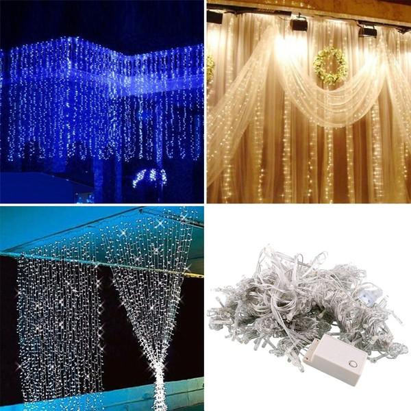 10m 100 Led Charming Fairy String Light Decorazione natalizia Decorazione di nozze Casamento Mariage Decorazioni per feste di compleanno .B
