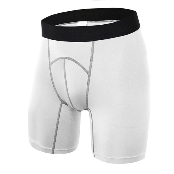New Release sports wear Body building rash guard underwear men's pants compression tights gym boxer shorts
