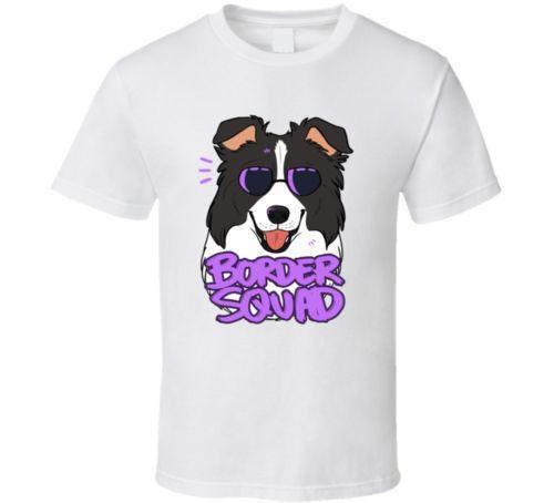 Border Collie Dog Breed T-shirt Tee camiseta de la historieta hombres Unisex nueva moda camiseta envío gratis Top Ajax 2018 divertido