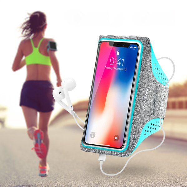 Running Case Sports Arm Bag Cell Phone Armband Holder Fitness Strap Exercise Band Jogging Case Arm Band For Men Women Sports