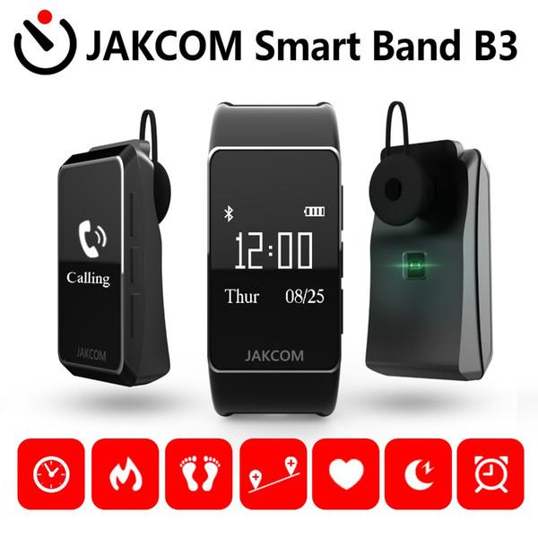 JAKCOM B3 Smart Band Smart Wristband In-Ear Supporto per auricolare Microfono Cardiofrequenzimetro HD Display OLED Contapassi