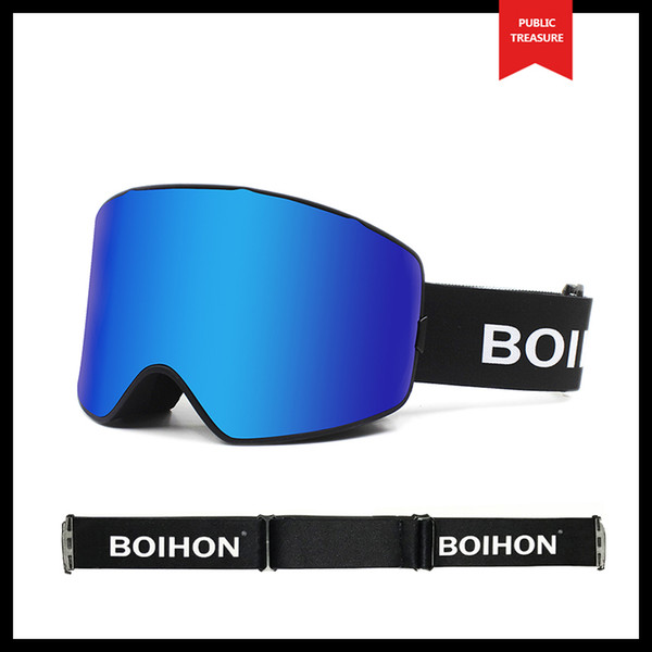 Adult Winter Ski Goggles Windproof Glasses Snow Goggles Wholesale Anti-fog Skiing Eyewear Snowing Eye Protection Ski Glasses Snowboard SHW