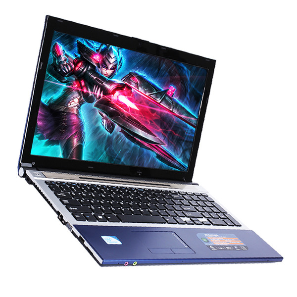 15.6inch Intel Core i7 CPU 8GB RAM+240GB SSD+1TB HDD gaming laptops DVD-ROM Windows 10 Laptop Notebook Computer free shipping