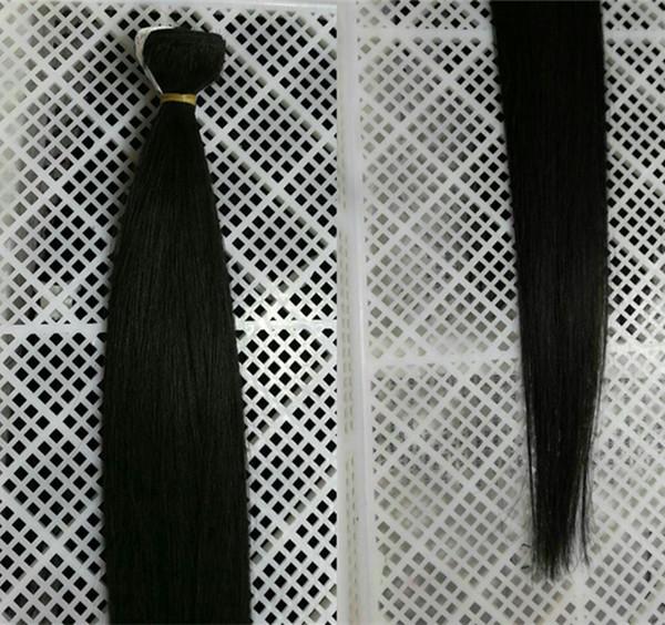Grade 9A--Indian & Vietnamese & Bralian Silk Straight Hair 3 Bundle 100% Human Hair Bundles Natural Color Human Remy hair, 90g one bundle
