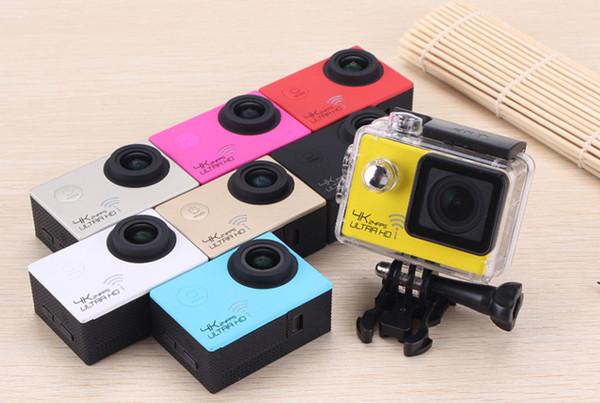 Cámara deportiva 4K cámara impermeable al aire libre control remoto WiFi Mini DV Cámaras de video de acción