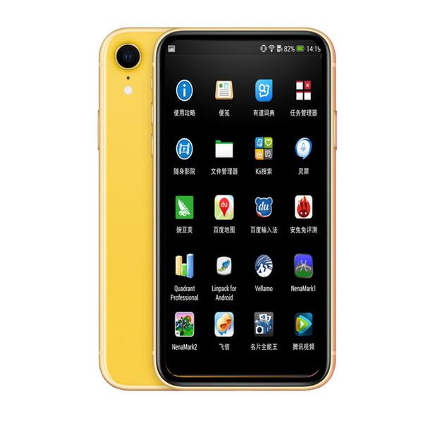 "Goophone xr 1GBRAM 8GBROM MTK6580 QuadCore 8MP 3G WCDMA Fake 4G LTE displayed Dual SIM 6.1"" Unlocked Cell Phones"