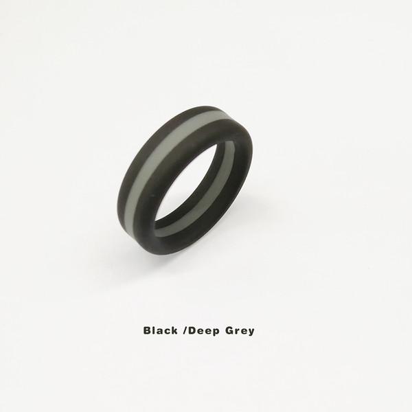 Black/Deep Grigio