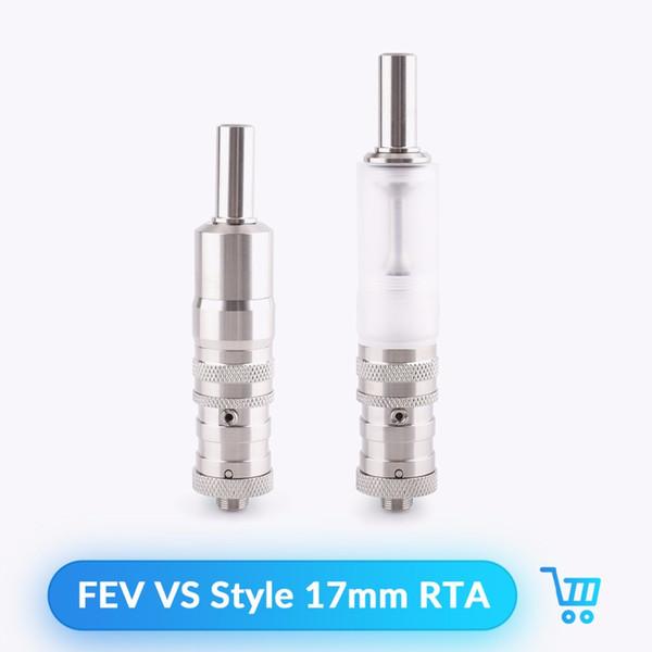 FEV VS Style RTA Tank Atomizer 17mm Diameter 316 SS for 510 Thread E Cigarettes Atomizer Vape Vs Doggy Style RTA Tank