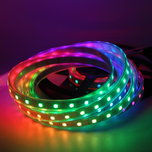 Wholesale 1M 5050 RGB WS2812B Chip Digital LED Strip Light 144 Pixel DC5V