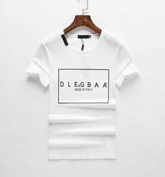 toptee2 / 2019 neue Sommermode Männer Casual Slim Fit Kurzarm T-Shirt Sommer Casual T-Shirts für Männer Lose Baumwollmischung T-Shirt Tops # 120