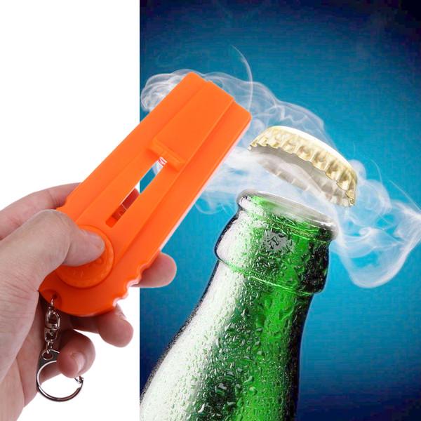 kitchen Flying Cap Zappa Bottle Beer Opener Birra Bottle Openers Cap Launcher Fire Hat Portachiavi Cavatappi