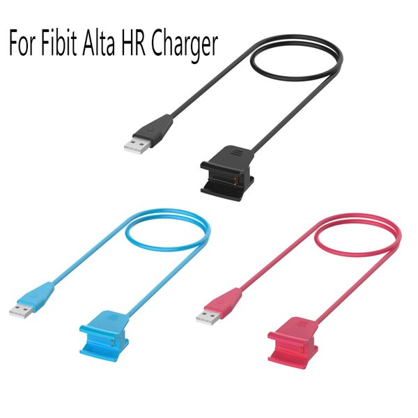 2019 Replacement USB Charging Charger Cable With Restart Button For Fitbit  Alta HR Smart Watch Wristband High Quality 100cm Cable From Kingabcstore,