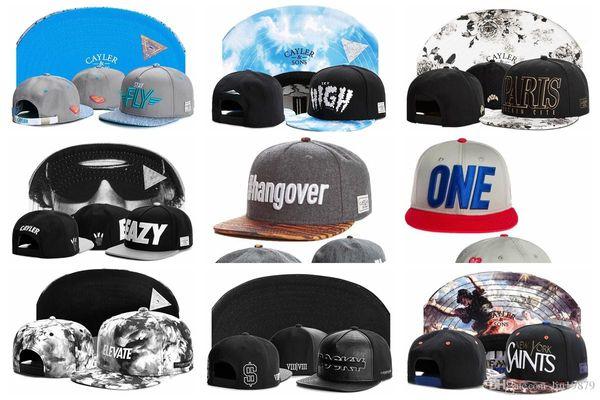 Free Shipping 2018 Cayler & Sons New Mens Snapback Hats Famous Gorras Hip hop Man women baseball Snapbacks Cap For Adult