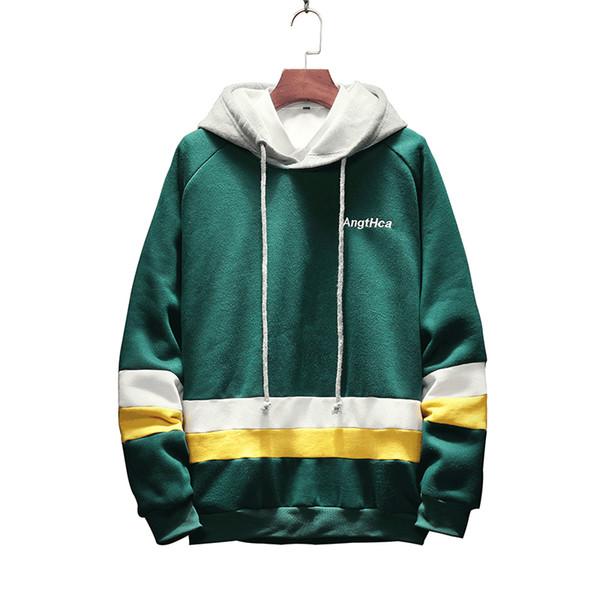 2018 printemps nouveau style mens hoodies M-5XL slim fit sweatshirts hommes mode casual hoodies sudadera hombre moletom masculino D17