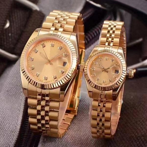 2019 New LUXURY WATCH Couples Style Classic Automatic Movement Mechanical Fashion Men Mens Women Womens Watch Watches Wristwatch
